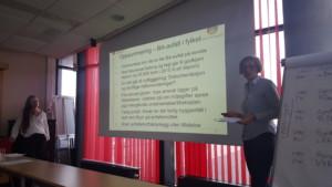 Astrid Holte fra Fylkesmannens miljøvernavdeling samt Liv Senneset fra Bergen kommune redegjorde for tilstanden i Bergen og Hordaland